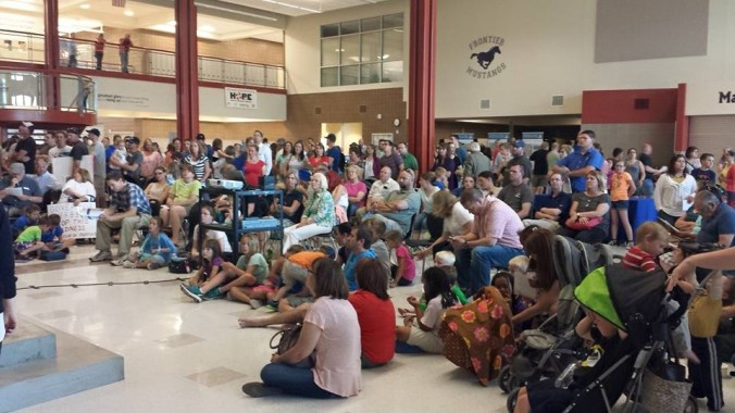 Prison Q&A Overflow at Frontier Middle School