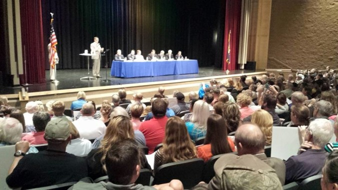 The Panel at the Prison Meeting at Frontier MS